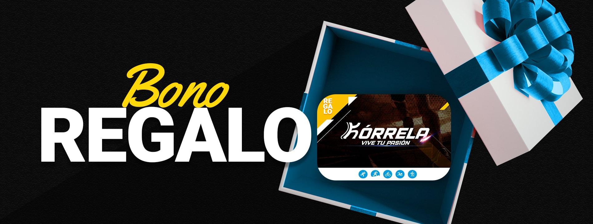 Banner de la tarjeta de regalo Kórrela